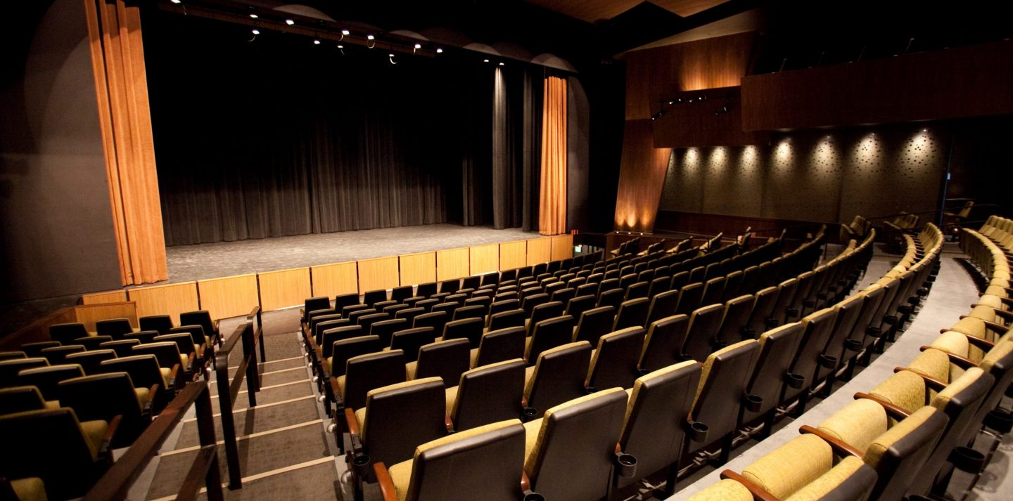 PACE Center Mainstage Theater & Rehearsal Spaces