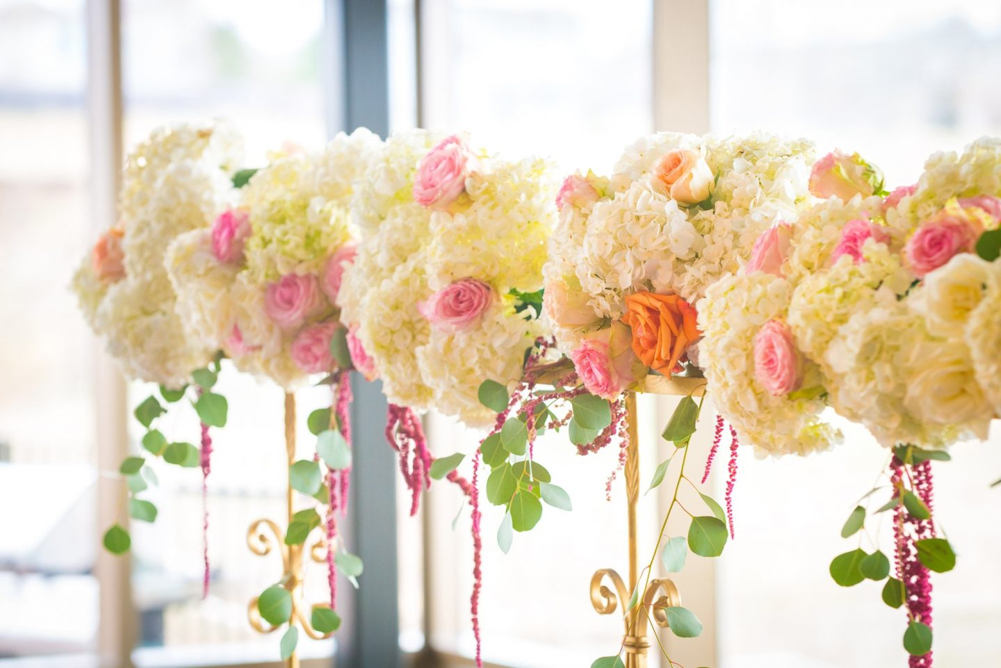 Beautiful wedding flower bouquets