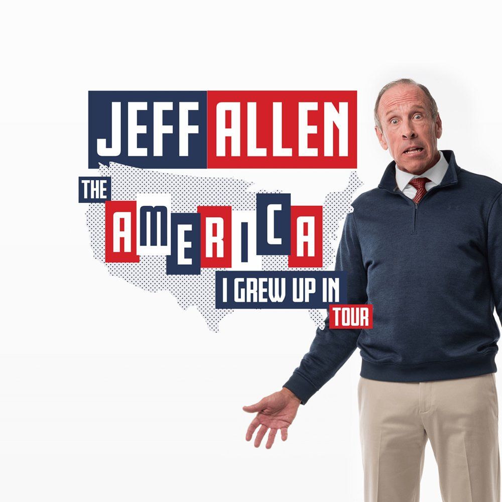 Jeff Allen The America I Grew Up In Tour Showcard