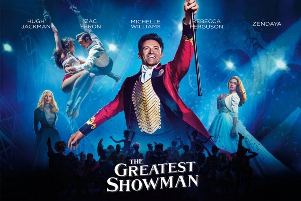 The Greatest Showman showcard