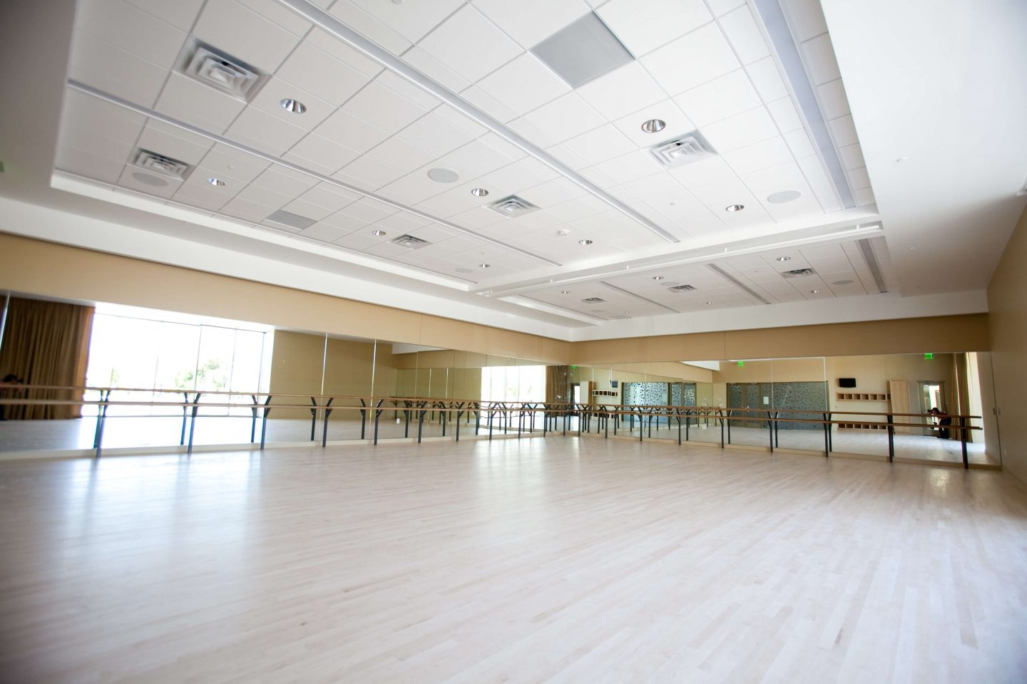 Dance Studio in the PACE Center in Parker, CO.