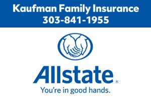 Logo for Allstate Kaufman Family Insurance