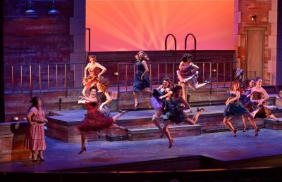 PACE Center Theater show dancers onstage in Parker, CO.