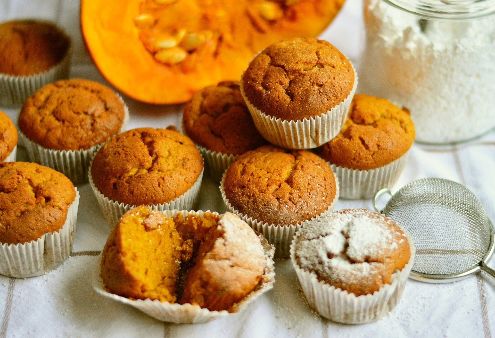Fall pumpkin muffins.