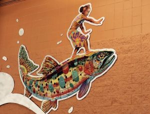 Somewhere Down the Lazy River - Fish Detail