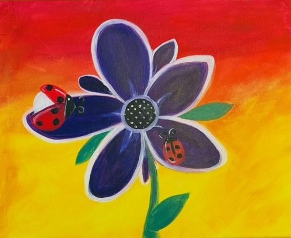 Peewee Picasso Ladybugs