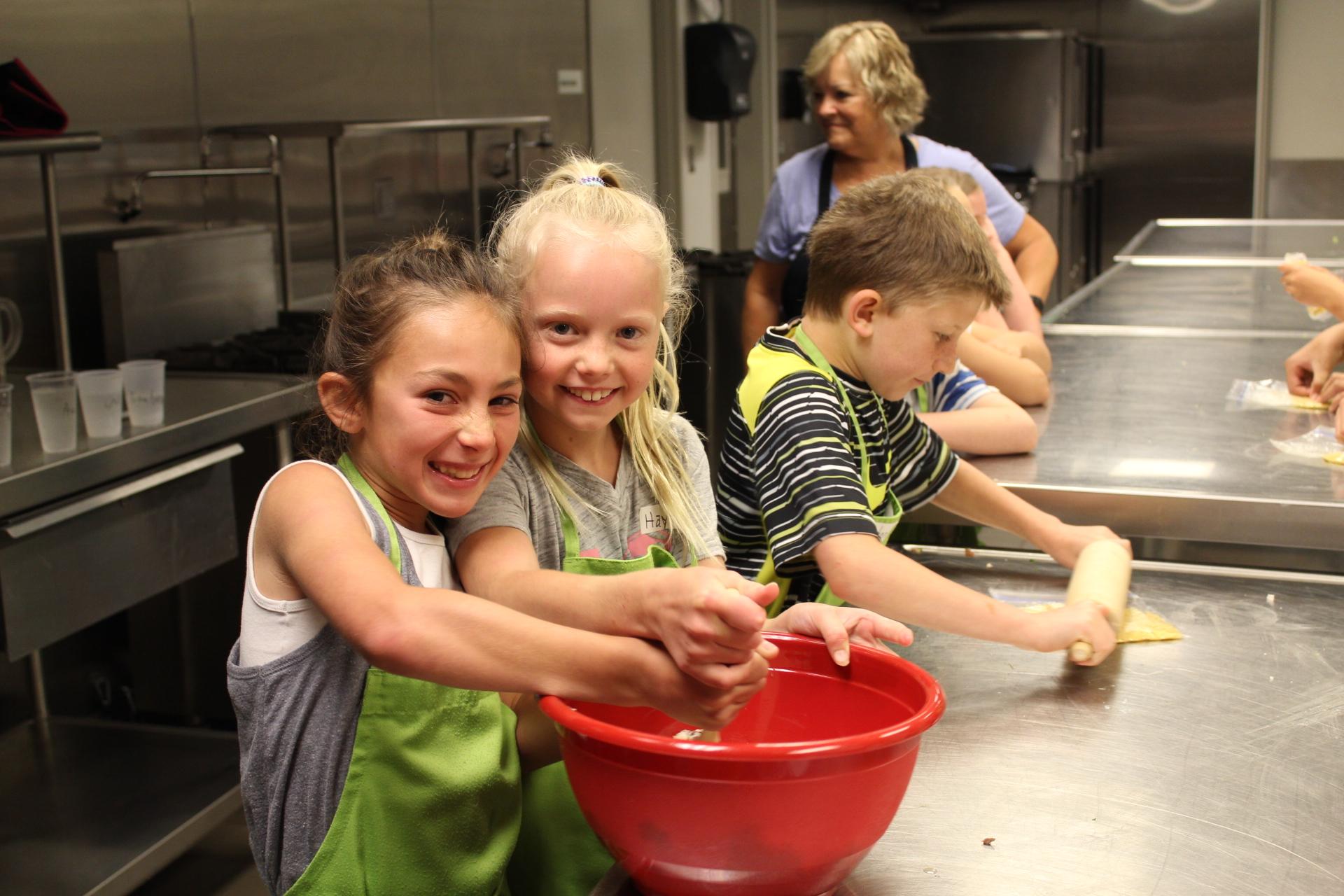 Kids Cooking Camp 2