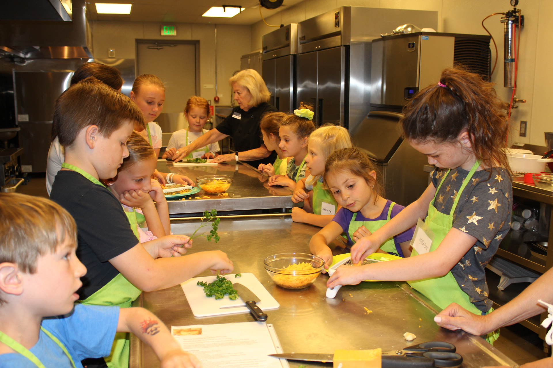 Kids Cooking Camp 3