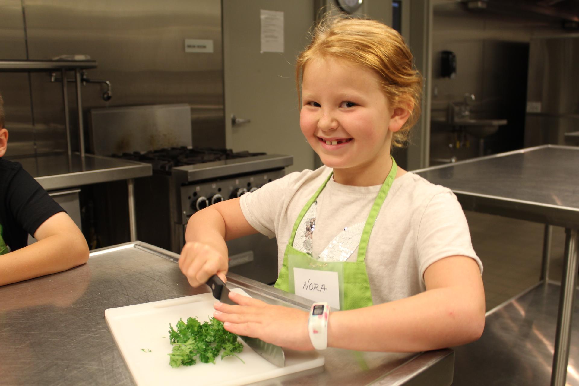 Kids Cooking Camp 4