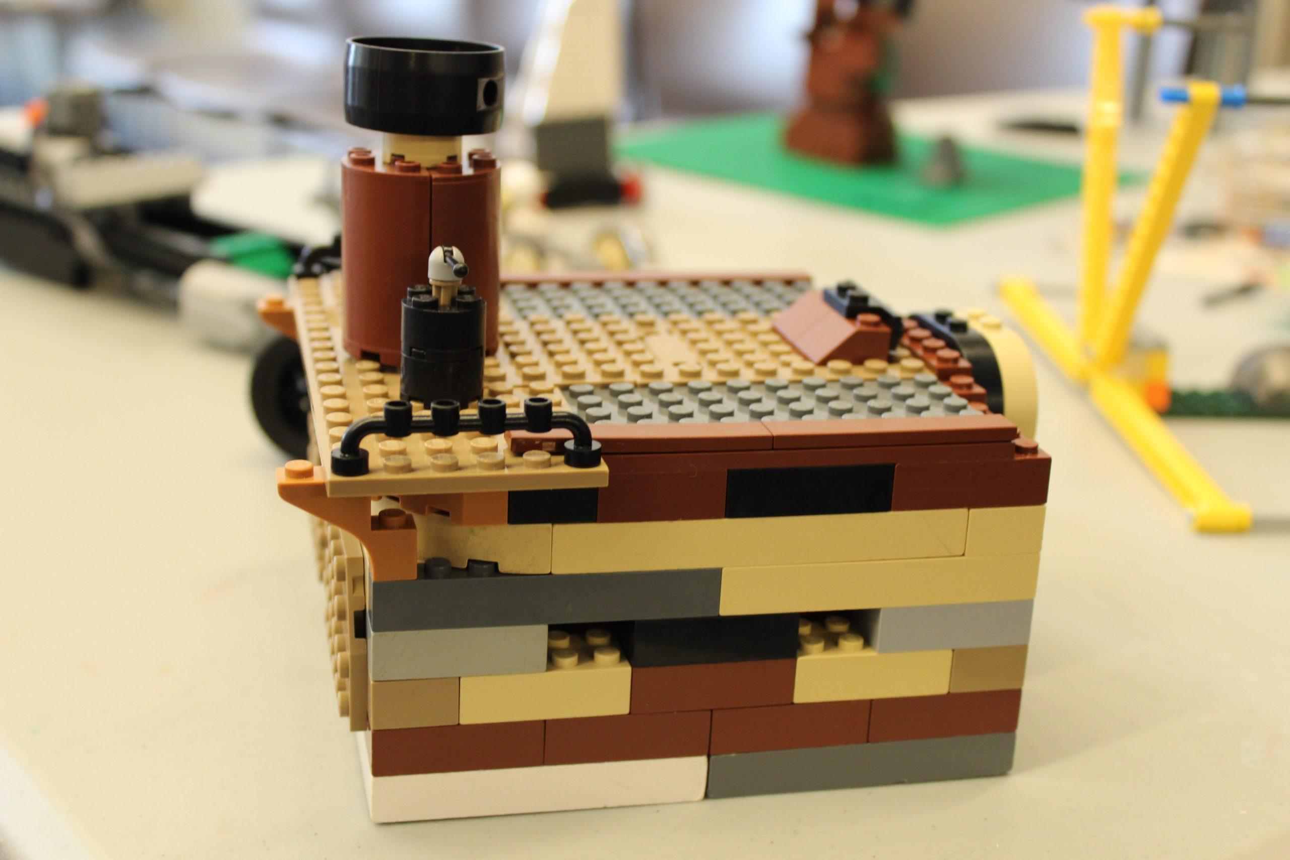 Pokémon Master Engineering using LEGO® Materials