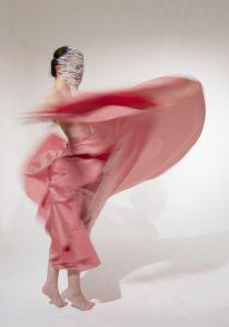 Pink Swirl by Jerrie Hurd