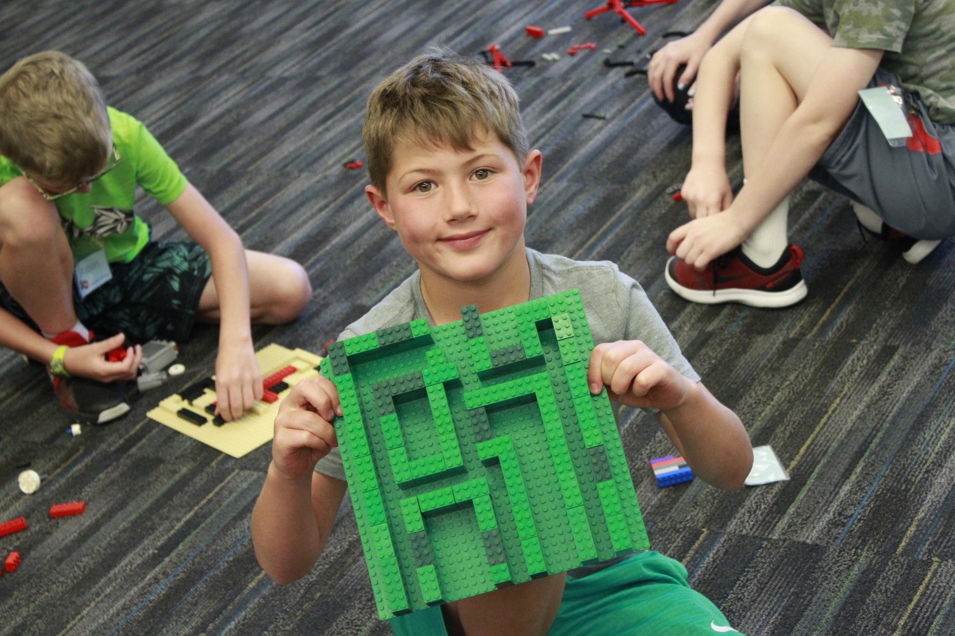 Minecraft Engineering with LEGO® Materials