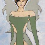 Aziza by Dasia Rodarte, 14 x 11, Acrylic