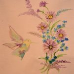 Colors of Nature by Dasia Rodarte, 10 x 18 Watercolor