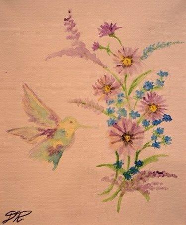 Colors of Nature by Dasia Rodarte, 10 x 18, Watercolor