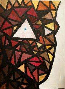 Hubris by Bobby Esparza, 48 x 36, Acrylic