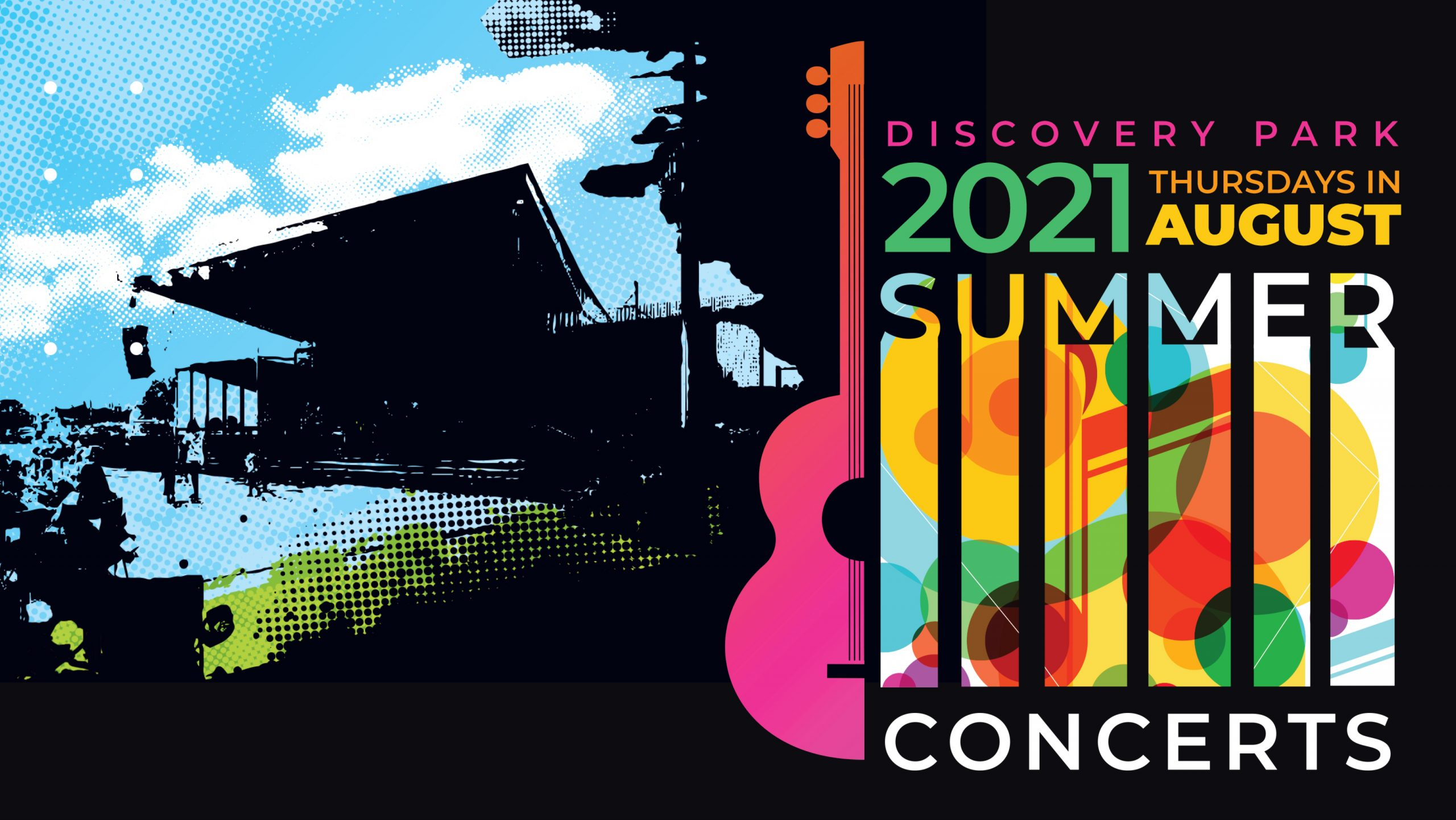 2021 Discovery Park Concert Series logo