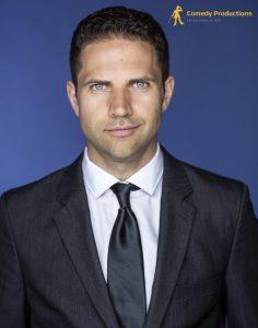Comedian Michael Harrison