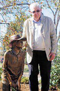 Photo of Nancy Gripman Sculpture